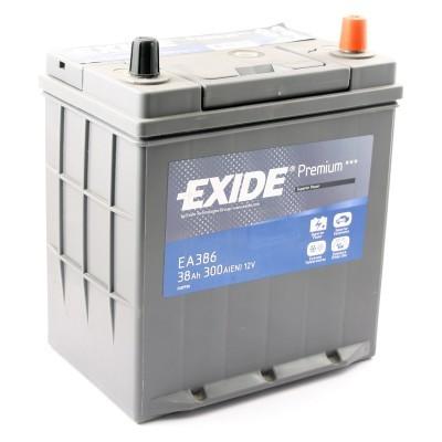 Аккумулятор EXIDE PREMIUM 12V 38AH 300A ETN 0(R+) Korean B1 187x127x220мм 10.9kg